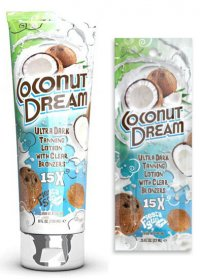 Крем для солярия COCONUT DREAM (15X), сашет 22 мл