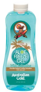 Гель для успокоения кожи после загара с лидокаином ALOE FREEZE GEL