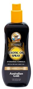 Масло спрей для усиления загара на солнце EXOTIC SPRAY OIL с бета каротином